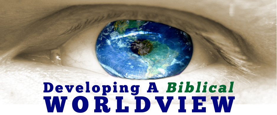a discussion on worldview in the bible Introduction to a christian worldview a course in thinking christianly it is commonly held that theology appeals to the authority of the bible while.